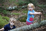 The twins led our hike on Great Wass Island in Maine