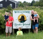 This is where they tell me it all began. Beal's Island, Maine