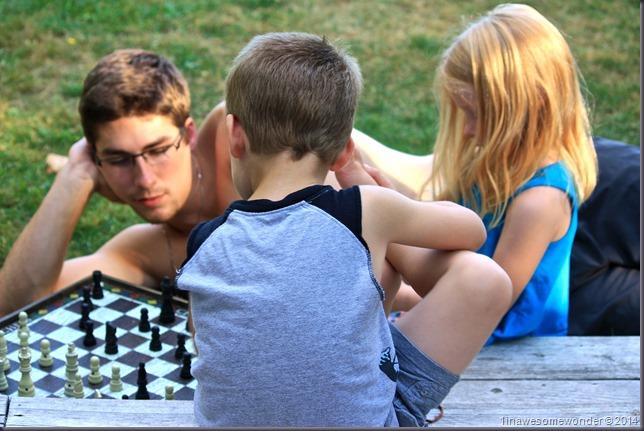 Chess siblings - Abrams Pond 2014