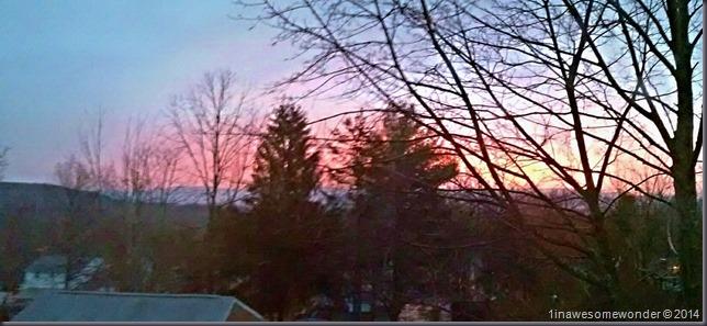 CT Sunrise 12-28-14