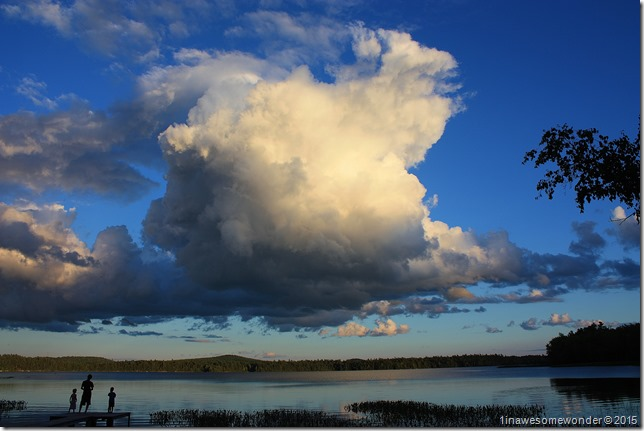 Huge sky