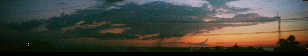Evening sky over Pamlico Sound, Outer Banks