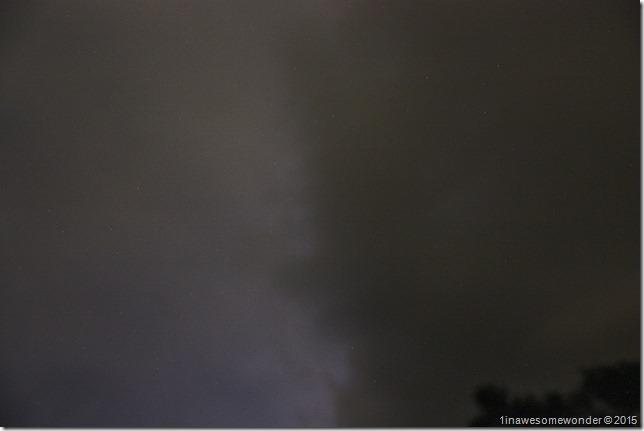 047 Lightning divides the sky
