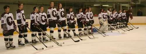 Grizzlies line up during pre-game. (c) 1inawesomewonder. (Photo by Charron)