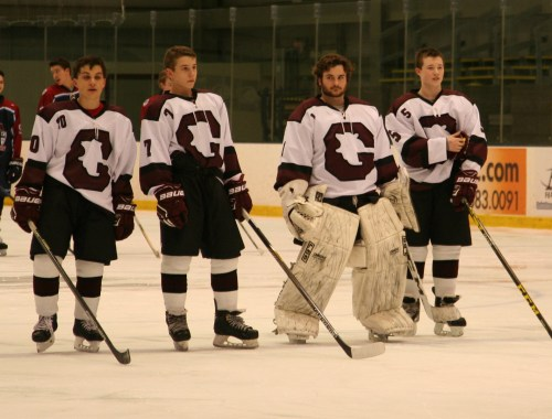Goffstown starters on Leap Day 2016. (c) 1inawesomewonder. (Photo by Charron)